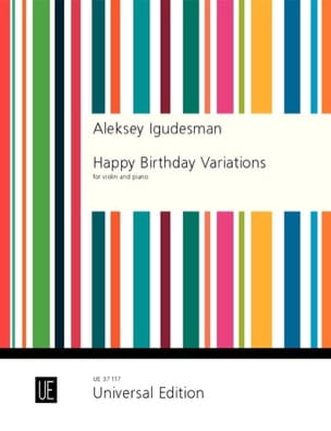 Happy Birthday Variations Aleksey Igudesman Partition laflutedepan