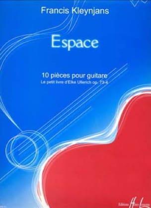 Espace op. 73-4 - Francis Kleynjans - Partition - laflutedepan.com