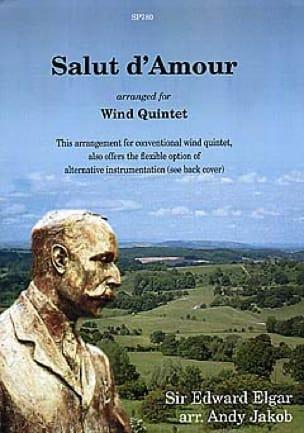 Salut d'amour -Wind quintet - Score + parts - laflutedepan.com