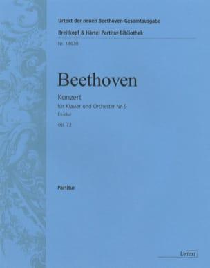 Klavierkonzert Nr. 5 Es-Dur op. 73 - Partitur BEETHOVEN laflutedepan