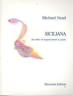 Siciliana Michael Head Partition Hautbois - laflutedepan