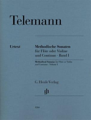 TELEMANN - Methodical sonatas for flute or violin and continuo, volume I - Partition - di-arezzo.co.uk