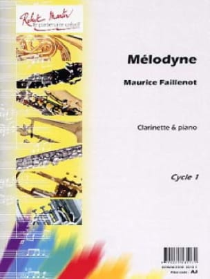 Mélodyne - Maurice Faillenot - Partition - laflutedepan.com