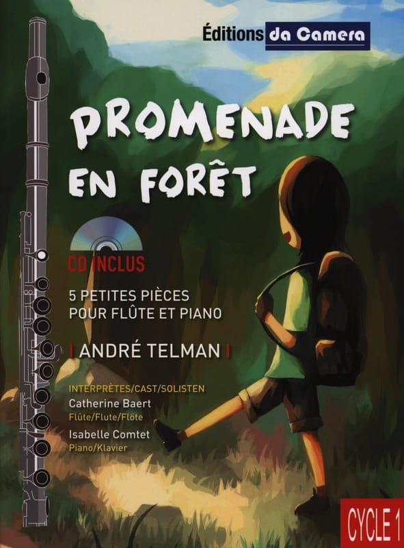 Promenade en Forêt - André Telman - Partition - laflutedepan.com