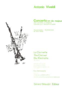 Concerto en do majeur VIVALDI Partition Clarinette - laflutedepan