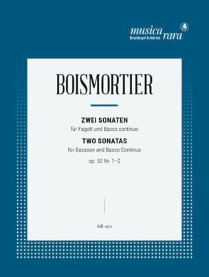 2 Sonatas op. 50 : n° 1/2 BOISMORTIER Partition Basson - laflutedepan
