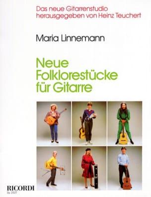 Neue Folklorestucke für Gitarre Maria Linnemann Partition laflutedepan