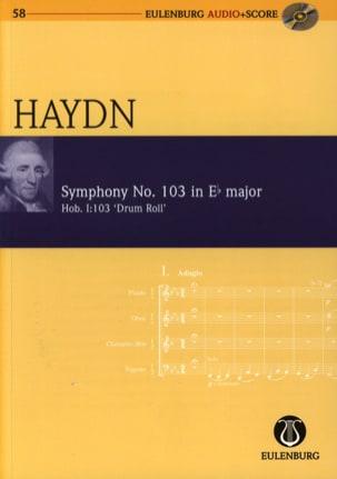 Symphonie N°103 En Mb Maj. - Hob.I:103 HAYDN Partition laflutedepan
