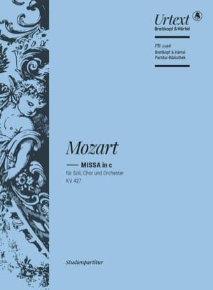 Messe en ut mineur, KV 427 - Conducteur Poche MOZART laflutedepan