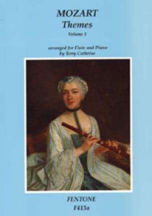 Themes, Volume 1 - Flûte et piano - MOZART - laflutedepan.com