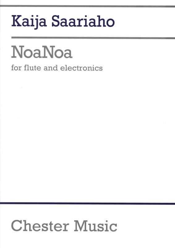 Noanoa - Flute Solo And Electronics Score - laflutedepan.com