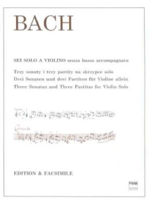 3 sonates et 3 partitas, BWV 1001-1006 - BACH - laflutedepan.com