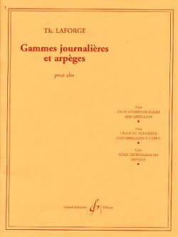 Gammes journalières et arpèges Th. Laforge Partition laflutedepan