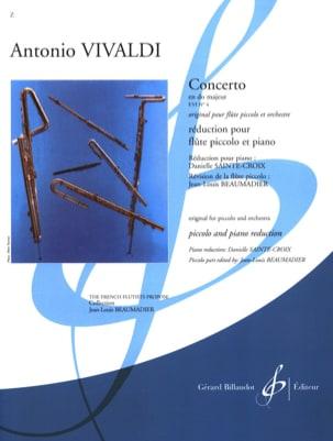 VIVALDI - Concerto En Do Majeur F. 6 N° 4 - Partition - di-arezzo.fr