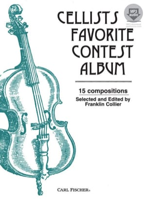 Cellists favorite Contest Album avec accompagnement audio laflutedepan