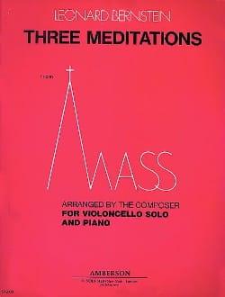 Leonard Bernstein - Drei Meditationen aus der Messe - Partition - di-arezzo.de