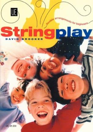 Stringplay - David Brooker - Partition - ENSEMBLES - laflutedepan.com