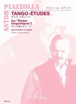 Tango-Etudes Astor Piazzolla Partition Basson - laflutedepan