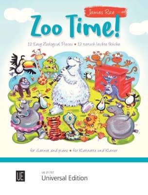 Zoo Time ! - James Rae - Partition - Clarinette - laflutedepan.com