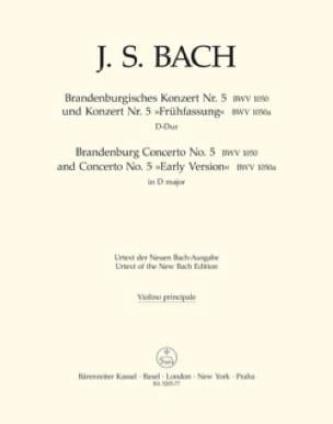 Concerto Brandebourgeois N° 5 und Konzert N°5 Frühfassung - laflutedepan.com