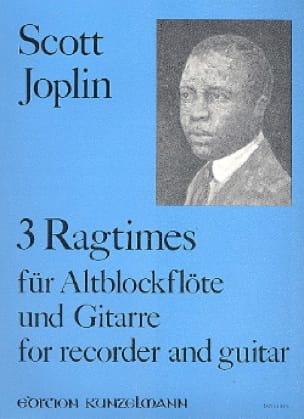 3 Ragtimes - Flûte A Bec et Guitare - JOPLIN - laflutedepan.com