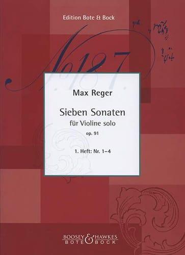 7 Sonaten, Op. 91 Volume 1 N° 1 A 4 - Max Reger - laflutedepan.com