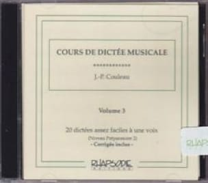 CD - Cours de Dictée Musicale - Volume 3 - laflutedepan.com