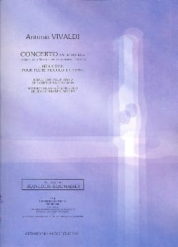 Concerto en do majeur F. 6 n° 5 -Piccolo piano VIVALDI laflutedepan