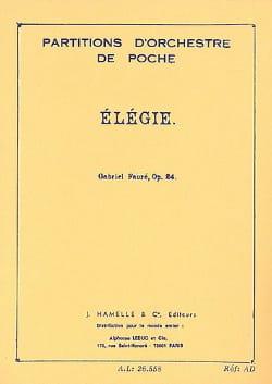 Elégie, op. 24 - Conducteur FAURÉ Partition laflutedepan