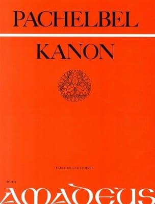 Canon -3 Violinen u. Bass - Partitur + Stimmen PACHELBEL laflutedepan