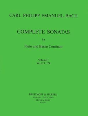 Complete sonatas Volume 1 - Flute et Bc - laflutedepan.com