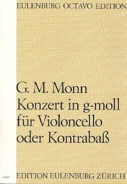Concerto en Sol Min. - Conducteur Georg Matthias Monn laflutedepan