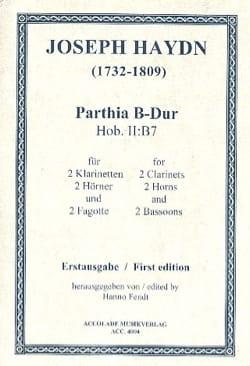 Sextuor Vents Hob Ii:b7 HAYDN Partition Sextuors - laflutedepan