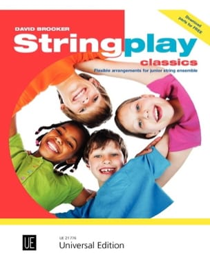 Stringplay Classics David Brooker Partition ENSEMBLES - laflutedepan