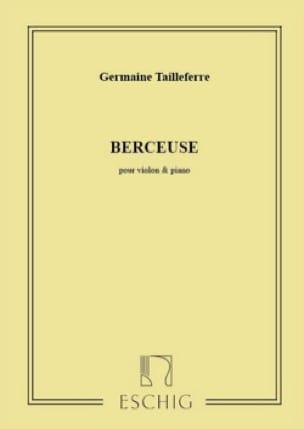 Berceuse - Germaine Tailleferre - Partition - laflutedepan.com