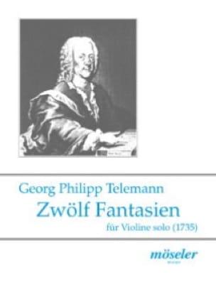 Zwölf Fantasien - TELEMANN - Partition - Violon - laflutedepan.com