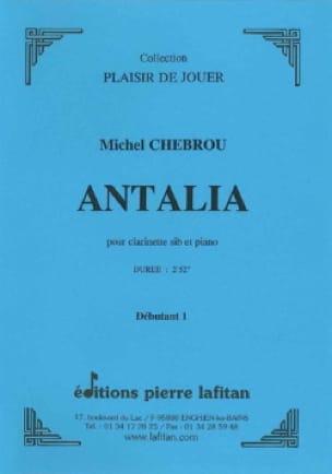 Antalia - Michel Chebrou - Partition - Clarinette - laflutedepan.com