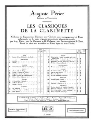 Petite marche - clarinette HAENDEL Partition Clarinette - laflutedepan