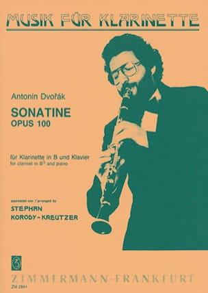 Sonatine op. 100 - Klarinette Klavier DVORAK Partition laflutedepan