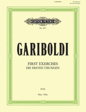 Premiers exercices pour la Flûte GARIBOLDI Partition laflutedepan