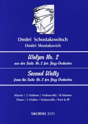 Walzer Nr. 2 aus der Suite Nr. 2 für Jazz-Orchester laflutedepan