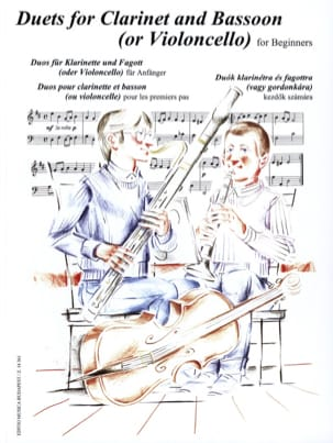 Duets for Clarinet and Bassoon for Beginners laflutedepan
