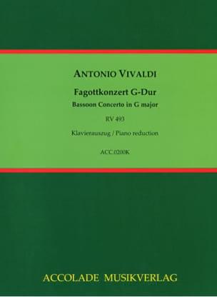 Konzert G Dur RV 493 für Fagott, Streicher und Cembalo laflutedepan