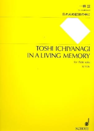 In a living memory - Flute solo - Toshi Ichiyanagi - laflutedepan.com