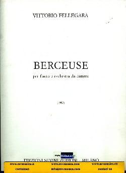 Berceuse - Partitura Vittorio Fellegara Partition laflutedepan