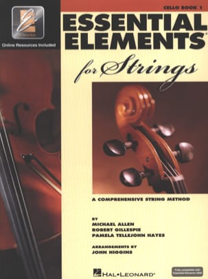 Essential Elements for Strings - Book 1 with EEi - Cello - laflutedepan.com