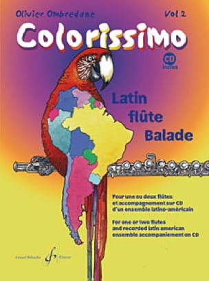 Colorissimo - Volume 2 - Olivier Ombredane - laflutedepan.com