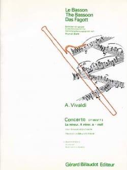 Concerto F. 8 n° 7 en la mineur VIVALDI Partition laflutedepan