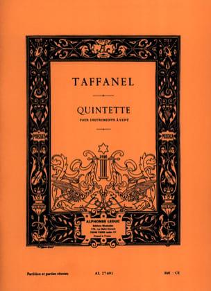Quintette à vent - Partition + parties Paul Taffanel laflutedepan