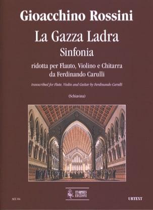 La Gazza Ladra - Sinfonia ROSSINI Partition Trios - laflutedepan